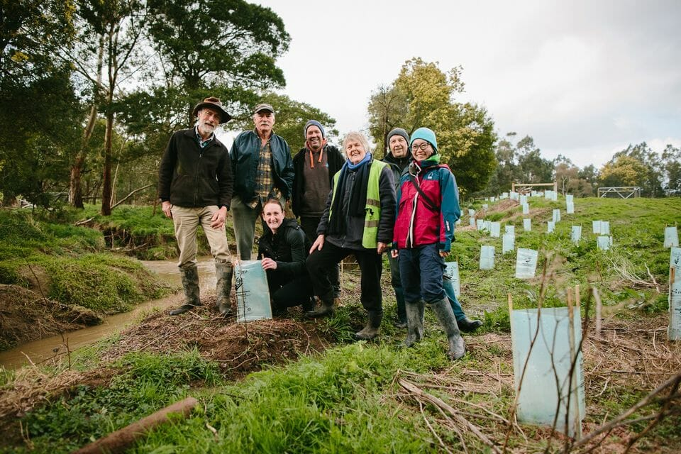 G.J. Gardner Franchisees planting trees with local community groups